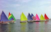 Row of Rainbow fleet
