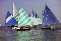 Some especially colorful sails